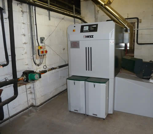 Case Study: Herz Log boiler