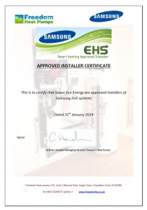 Approved Samsung EHS installer