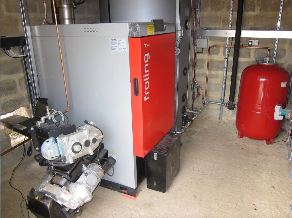 Froling T4 40 wood chip boiler