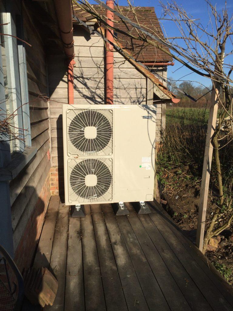 ASHP Sussex installation